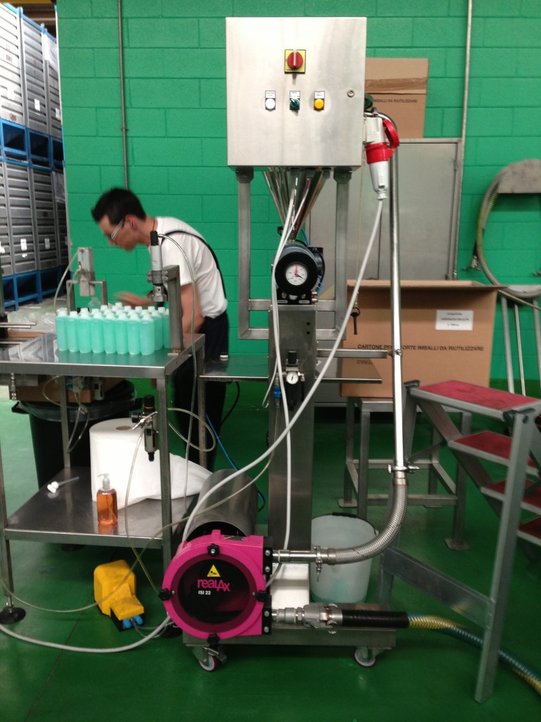 Pumping detergents
